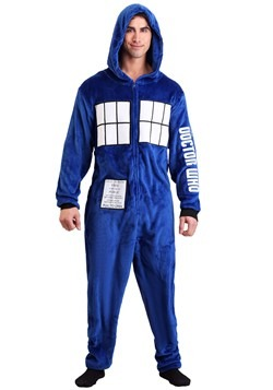 Doctor Who Men's Tardis Union Suit