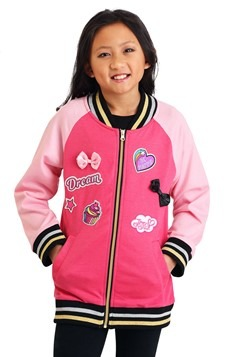 JoJo Siwa Girls Never Quit Varsity Jacket