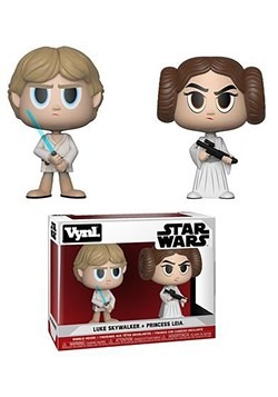VNYL: Star Wars 2 Pack- Princess Leia and Luke Skywalker