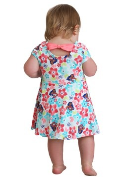 Toddler Moana Girls Knit Dress Back