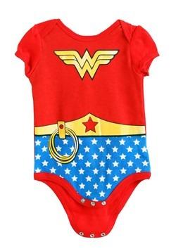 Wonder Woman Girls Newborn Onesie 2-Pack