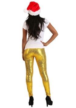 Tipsy Elves Women's Gold Sequin Leggings