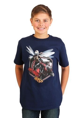 Boys Ant-Man and the Wasp Navy T-Shirt