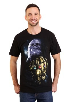Thanos Infinity Stones Men's Black T-Shirt