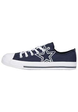 Cowboys Low Top Canvas Shoe Youth