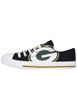 Green Bay Packers Low Top Canvas Shoe Youth
