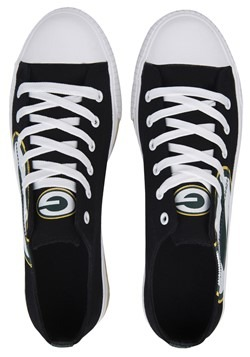 Green Bay Packers Low Top Canvas Shoe Youth2