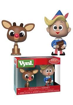 Funko Vnyl Rudolph - 2 pack Rudolph & Hermie
