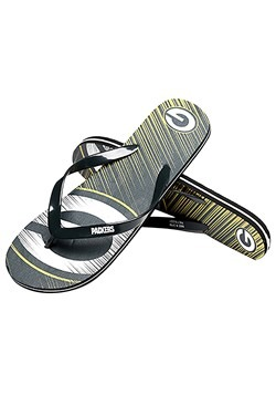 Green Bay Packers Diagonal Stripe Unisex Flip Flop2