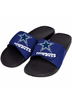Dallas Cowboys Cropped Big Logo Slide Flip Flops