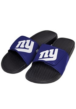 Men's Giants Cropped Big Logo Slide Flip Flops