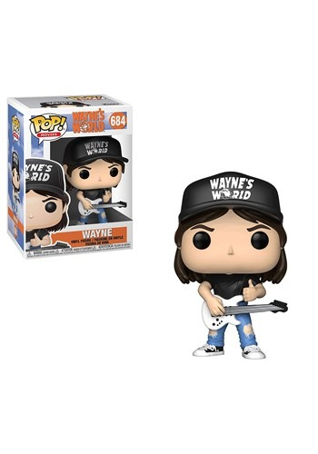 Pop! Movies: Wayne's World- Wayne Vinyl Figure