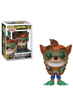 Pop! Games: Crash Bandicoot- Crash with Scuba