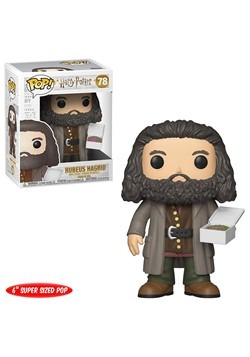 "Pop! Harry Potter- 6"" Hagrid w/ Cake"