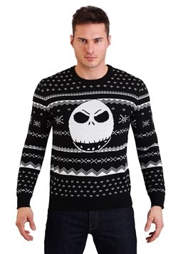 Nightmare Before Christmas Jack Ugly Sweater