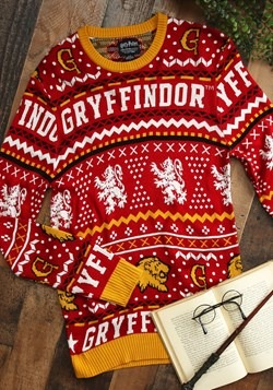 Harry Potter Gryffindor Ugly Sweater