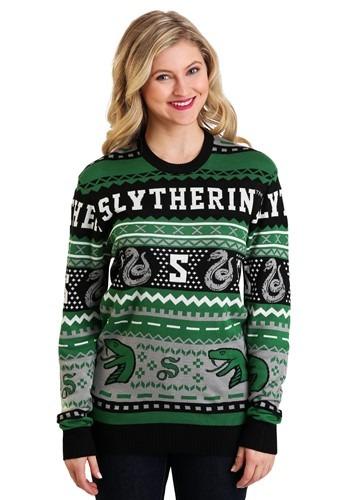 Harry Potter Slytherin Ugly Sweater