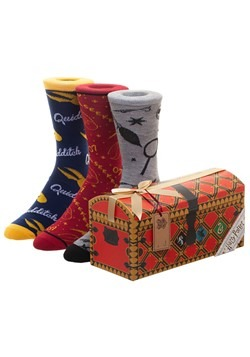 Quidditch Trunk 3 Pack Crew Socks