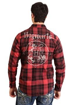 Men's Harry Potter Hogwarts Flannel Shirt2