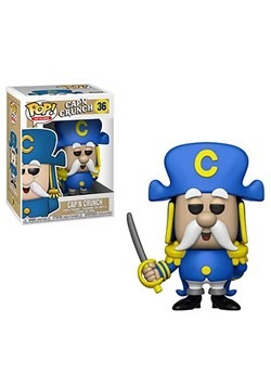 Pop! AD Icon: Quaker Oats- Cap'n Crunch w/ Sword