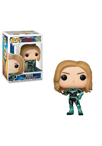 Pop! Marvel: Captain Marvel- Vers