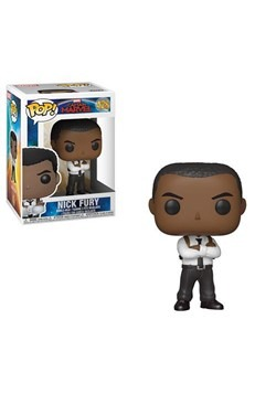 Pop! Marvel: Captain Marvel- Nick Fury