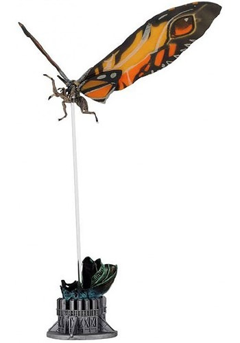 """Godzilla King of the Monsters 7"""" Mothra Action Figure"""