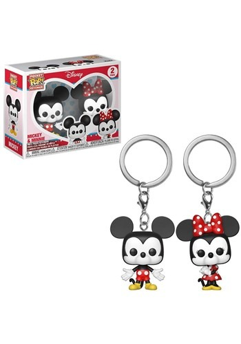 Pop! Keychain: Disney: 2 pack- Mickey & Minnie