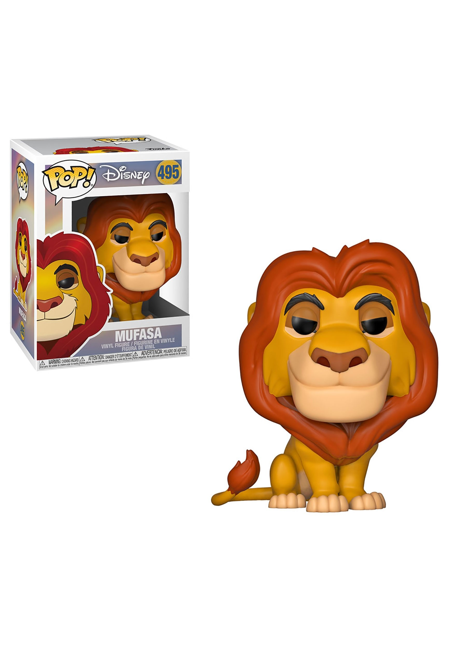 Pop! Disney: Mufasa- Lion King
