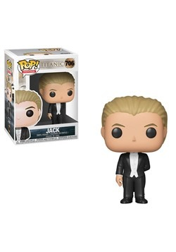 Funko Pop! Movies: Titanic- Jack Figure