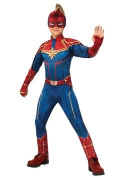 Captain Marvel Deluxe Kids Costume
