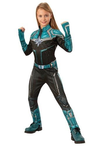 Captain Marvel Kree Suit Deluxe Child Costume