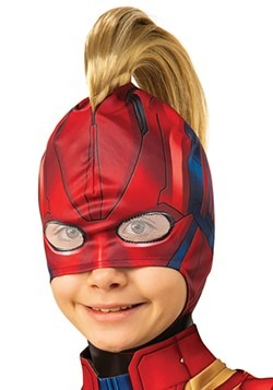 Captain Marvel Mohawk Headpiece Child