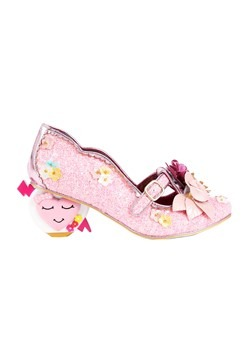 Irregular Choice 'Amare' Pink Floral Heart Shaped  Alt 1