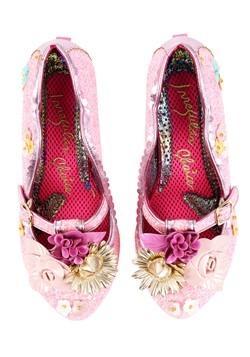 Irregular Choice 'Amare' Pink Floral Heart Shaped  Alt 4