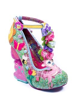Irregular Choice 'Fantastic Fawn' Family Reunion Heels