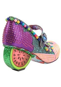 Irregular Choice 'Fruit Punch' Pink/Purple Watermelon Heels