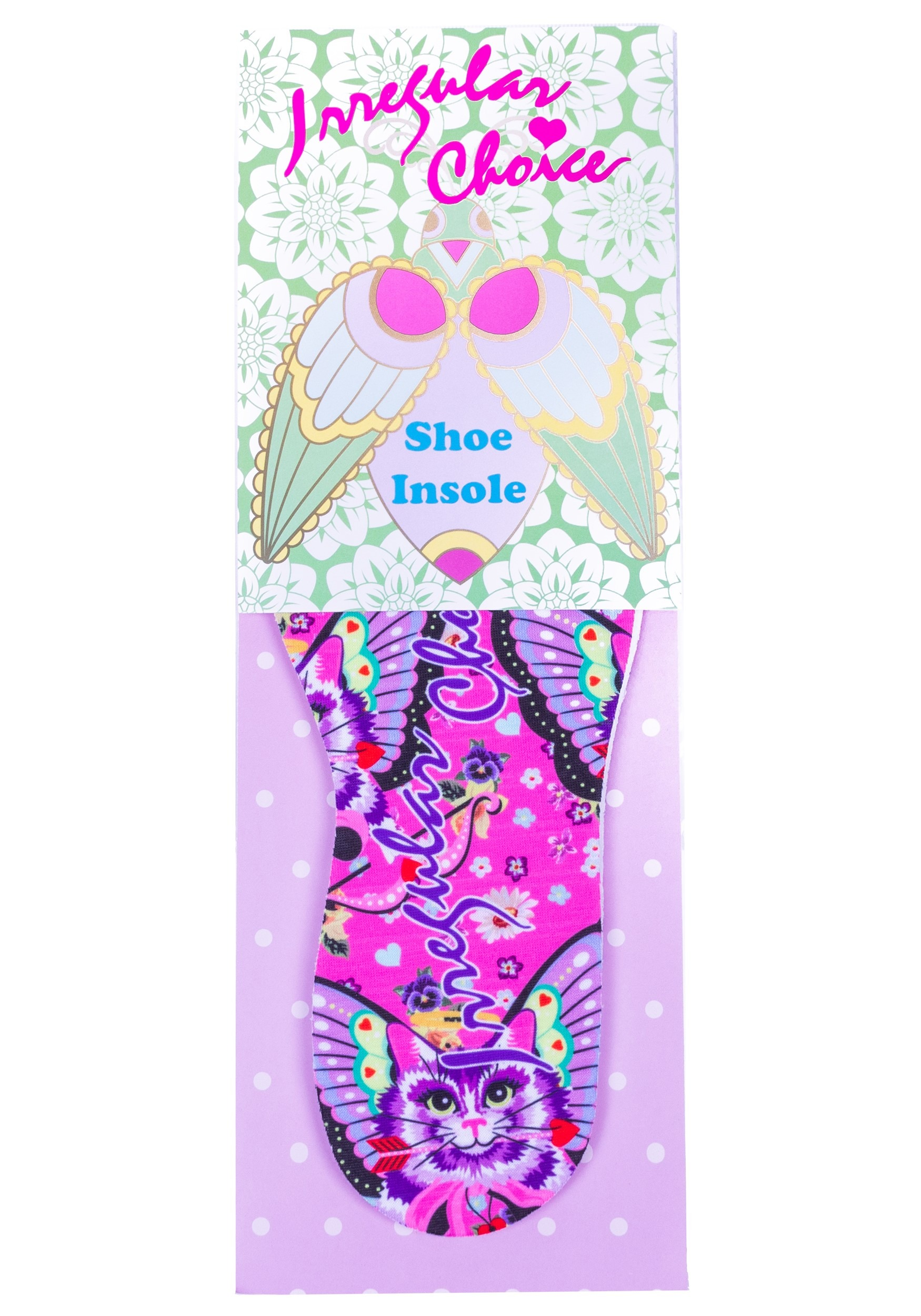 Irregular Choice Mau Print Insoles for Heels
