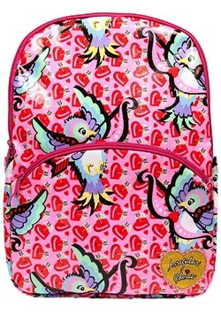 Irregular Choice Cupid Bird Pink Backpack alt1