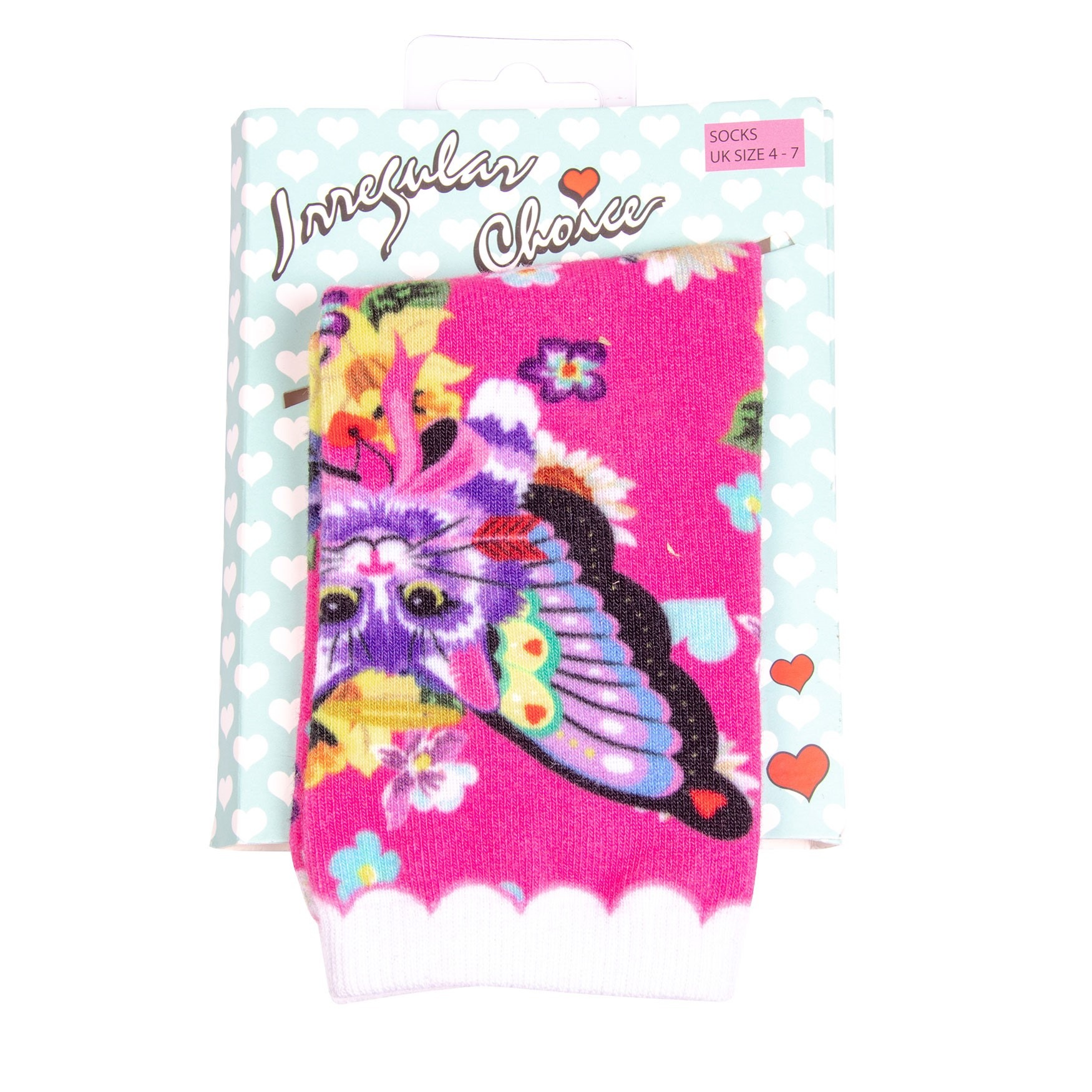 Irregular Choice Sockadelic Catterfly Socks for Women