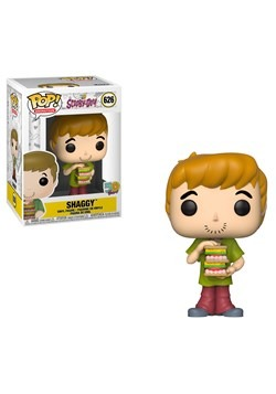 Pop Animation Vinyl Shaggy with Sandwich Figure