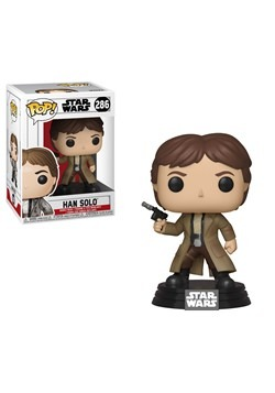 POP! Star Wars: ROTJ- Endor Han Solo Bobblehead Figure