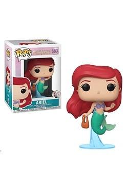 Pop! Disney: Little Mermaid- Ariel w/ Bag Collectible