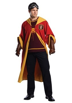 Adult Gryffindor Quidditch Costume Harry Potter