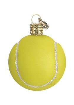 Tennis Ball Glass Blown Hanging Ornament
