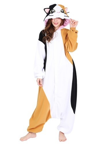 Adult Calico Cat Kigurumi