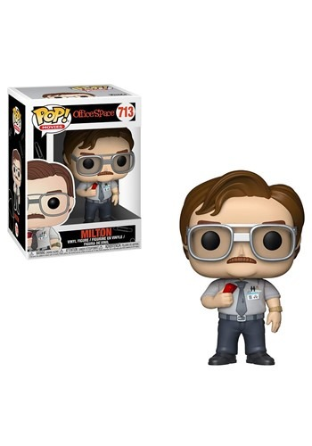 Funko Pop! Movies: Office Space- Milton Waddams