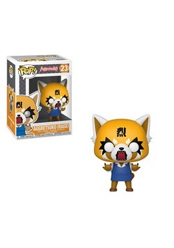 Pop! Sanrio: Aggretsuko- Retsuko w/ Chainsaw Vinyl Figure