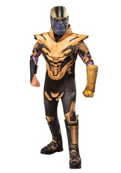Deluxe Marvel Avengers Endgame Boys Thanos Costume