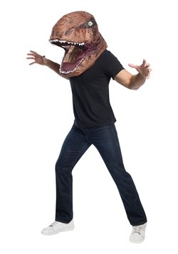 Adult Jurassic World Inflatable T-Rex Head